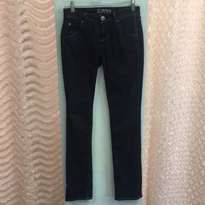Hudson DK Wash Straight Jeans